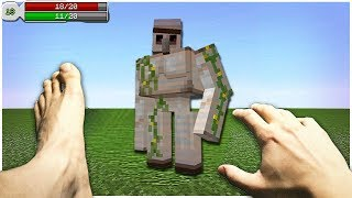 Realistic Minecraft In Real Life  Irl Minecraft Animations In Real Life Minecraft Animations
