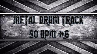 groovy metal drum track 90 bpm hqhd