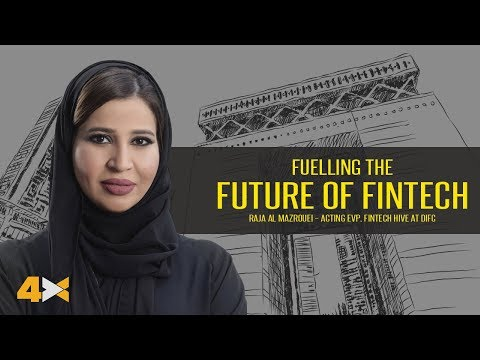 The future of FinTech with Raja Al Mazrouei of DIFC