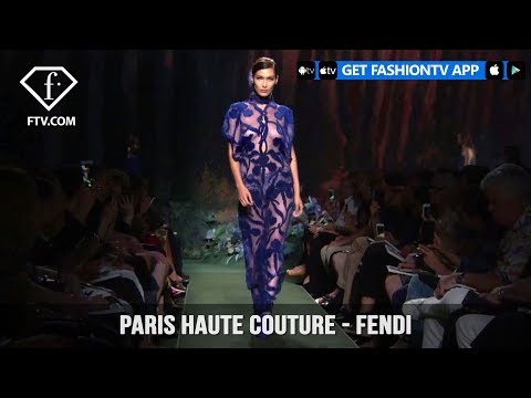 Paris Haute Couture Autumn/Winter 2018 - Fendi | FashionTV