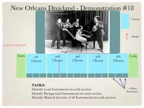 New Orleans Dixieland Analysis K3