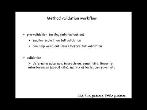 Validation of clinical LC-MS/MS methods: What you need to know
