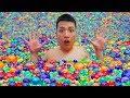 NTN - Thử Tắm Với Một Triệu Hạt Nở (Take a shower with 1 million Orbeez)