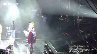 "(fancam) 120218 SS4 in Singapore - Suju losing their balance ""Good Friends"""