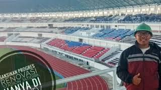 TERBARU LUR,  CEK LUAR DALAM Progres RENOVASI STADION JATIDIRI SEMARANG TAHAP IV
