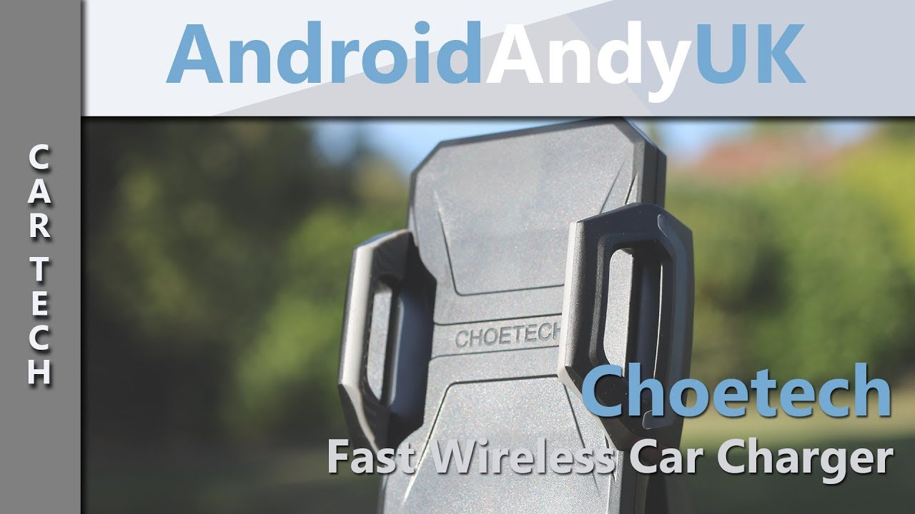 Choetech Fast Wireless Car Charging Mount (Samsung Galaxy Note 9)