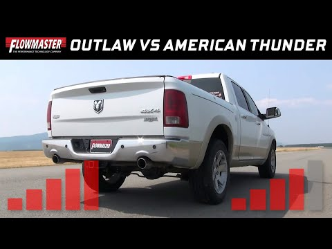 2009-18 RAM 1500 5.7L Hemi - Outlaw and American Thunder Direct-fit Mufflers