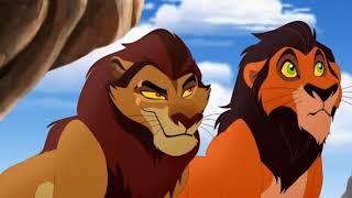 Как Шрам Получил Шрам 1/2 l Песня в Ужасном Русском Дубляже  When I Led The Guard Russian Lion Guard