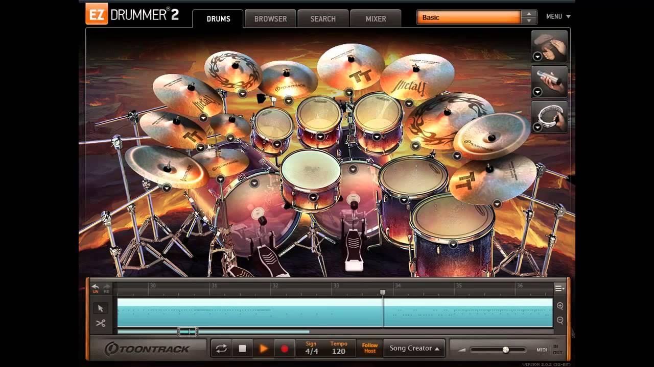 EZ Drummer 2 - Metal! EZX - Death Metal Demo