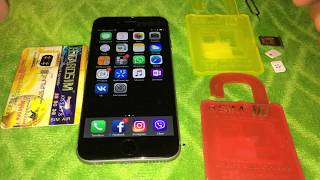 Unlock iPhone 6 T-mobile 10.x iOS R-sim 10+