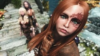 Repeat youtube video SKYRIM Sexy Followers 2 - Girls of Skyrim ( PC Mod Tutorial DE )