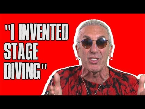 Dee Snider Regrets How He 'Invented Stage Diving'