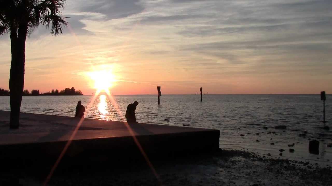 Hd Sunset At Hudson Beach Fl Friday February 15 2017