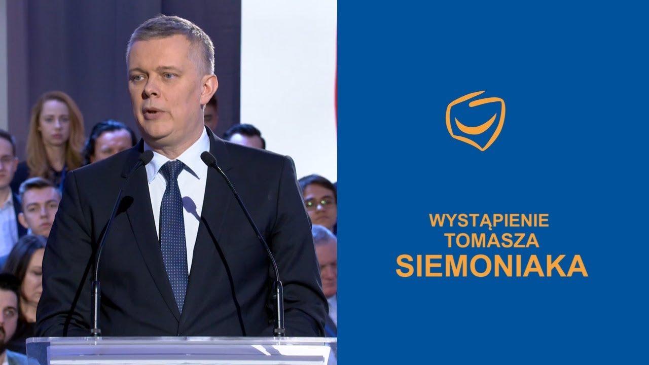 Wystąpienie Tomasza Siemoniaka, Rada Krajowa PO, Warszawa, 24.02.2018