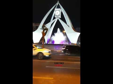 Clock Tower Dubai#RAZworld