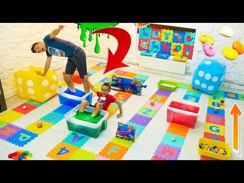 NE JAMAIS SAUTER SUR LA MAUVAISE CASE !!! EXTRME DITION - Giant Board Game Challenge
