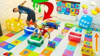 NE JAMAIS SAUTER SUR LA MAUVAISE CASE !!! EXTRÊME ÉDITION - Giant Board Game Challenge