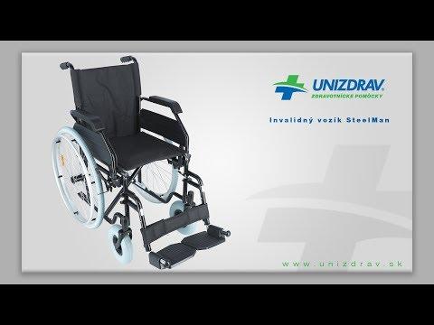 Invalidný vozík SteelMan - VIDEOMANUÁL