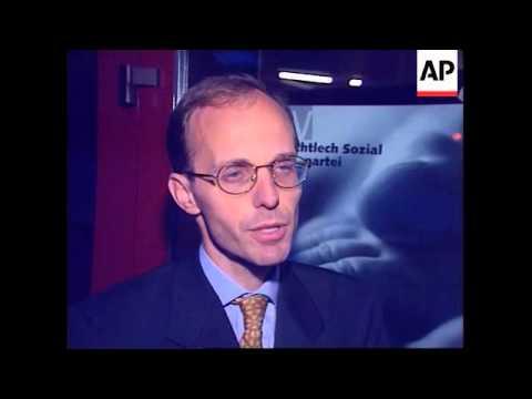 BELGIUM/LUXEMBOURG: SANTER EURO PARLIAMENT CANDIDATE