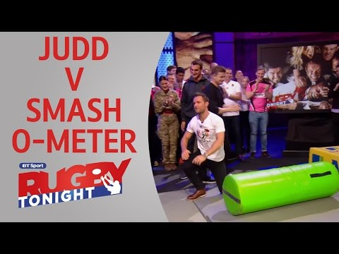 Harry Judd takes on the Smash-O-Meter | RugbyTonight