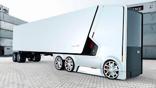 Какими будут грузовики БУДУЩЕГО?