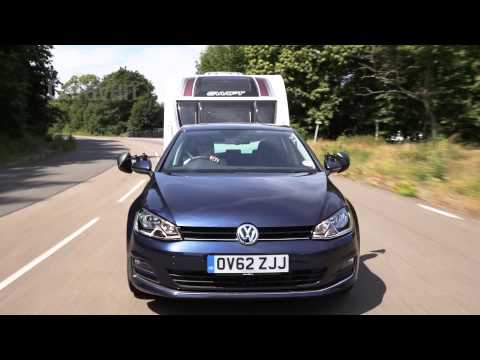 Practical Caravan | VW Golf | Tow Test 2013