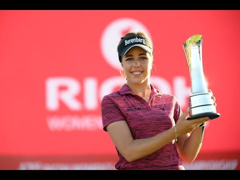 Georgia Hall Wins 2018 Ricoh Women's British Open (Final Round Highlights)
