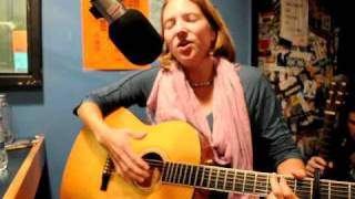 Theda Phoenix plays a song dedicated to environmental activist Tre Arrow..AVI