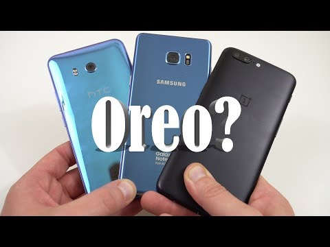 Android Oreo Update: When Will YOU Get It? (Samsung, LG, HTC, Moto)