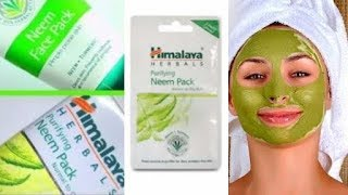 Himalaya Neem Face Pack For Acne & Glowing Skin | Review,Price & How to use