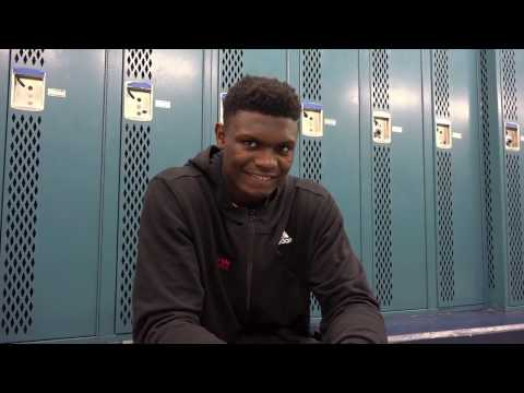 2018 BIG MAN ZION WILLIAMSON INTERVIEW AT ELECTRIC CHICK-FIL-A CLASSIC