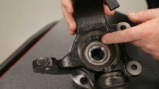 Install Tip for Wheel Bearings w/Magnetic Encoded Seal