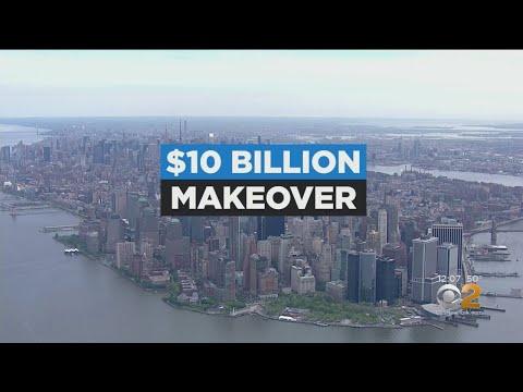De Blasio Unveils Lower Manhattan Storm Surge Plan