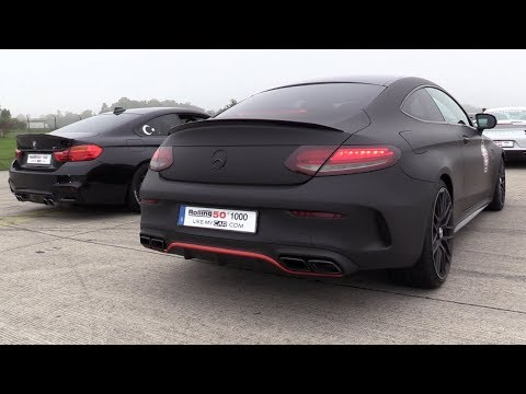 600HP Mercedes-AMG C63 S Coupe w/ Straight Pipes – REVS, Accelerations, Drag Racing!