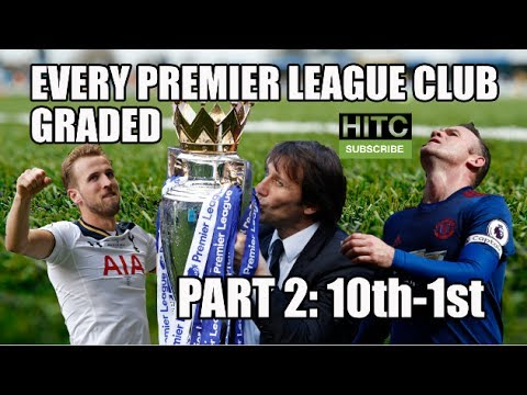 EVERY Premier League Club Graded (Part Two: 10th-1st)