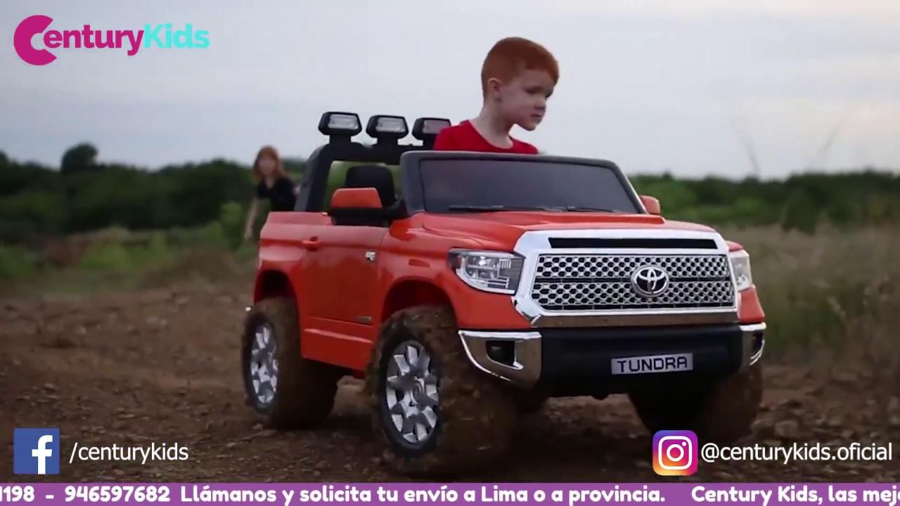 paridad Predecir Sombreado  CAMIONETA ORIGINAL 4X4 PARA DOS NIÑOS TOYOTA TUNDRA - YouTube