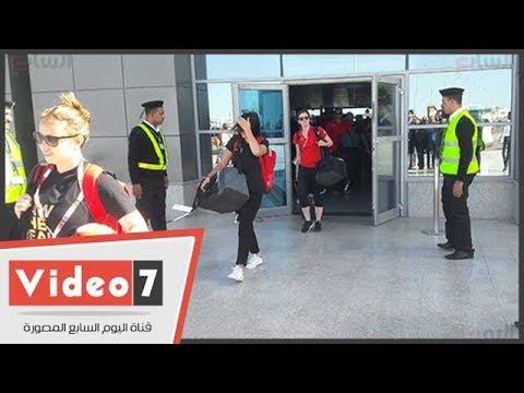 كأس العالم يصل لمطار الغردقة والبعثه المرافقة له تتجه إلى الجونة  - 15:22-2018 / 3 / 16