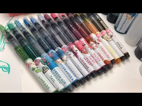 INKredible inks overview - Jane Davenport Live painting and chatting