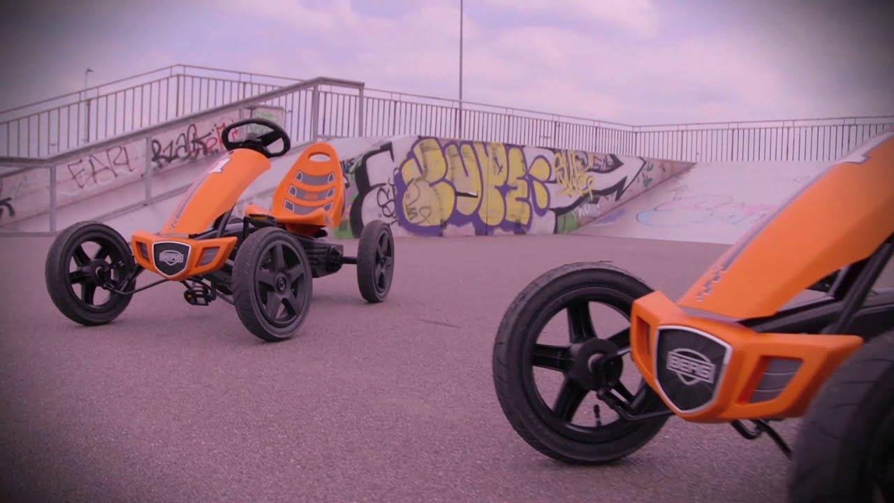 Berg Rally Orange Pedal Go Kart