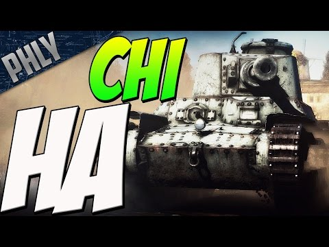 NAVAL GUN on a TANK? Chi-Ha 120mm DERP (War Thunder Tanks)