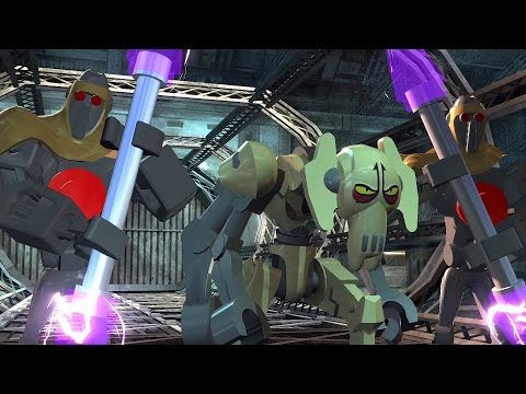 LEGO Star Wars III: The Clone Wars. #19. Grievous Intrigue (Свободная игра, 100%)