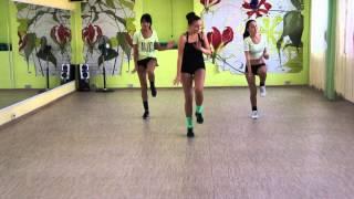 Екатерина Пойкина, Урок 1, танец зумба, г  Новочебоксарск(, 2013-09-08T19:26:46.000Z)