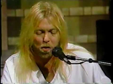 "Gregg Allman ""I'm No Angel"" @ The David Letterman Show"