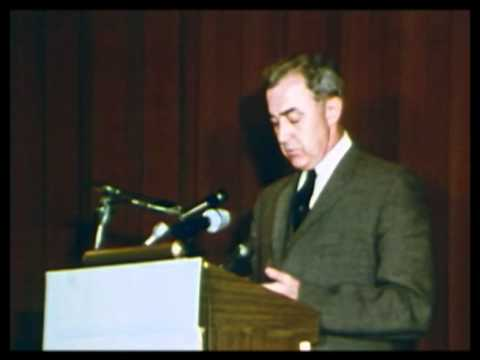 Eugene McCarthy on doing the right thing 1967