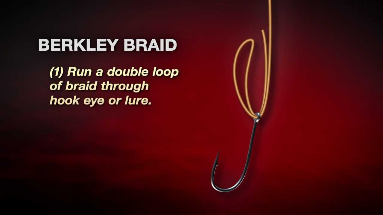 Berkley Braid Knot Youtube