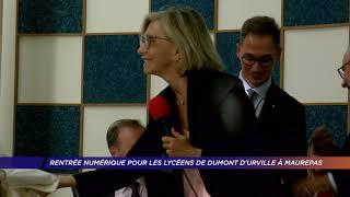Yvelines | Rentrée numérique pour les lycéens de Dumont D'Urville à Maurepas