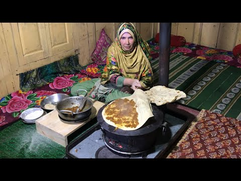 Shoroo Recipe - A Special kind Of Bread Which Center Fill With Turnips Curry - By #SecretsOfGilgit