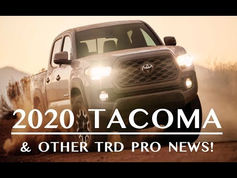 2020 Tacoma & Other TRD Pro News
