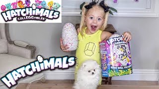 EVERLEIGH OPENS HATCHIMALS SURPRISE!!! (WHICH HATCHIMALS DID SHE GET?!)