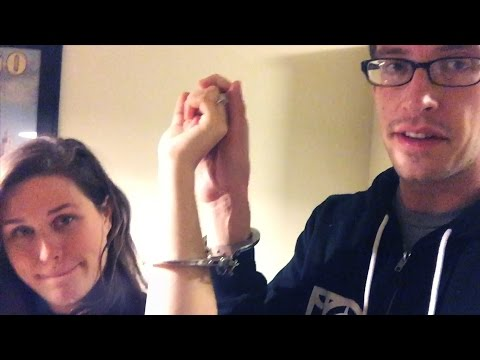 Engaged Couples Get Handcuffed Together For 24 Hours • Keith & Becky